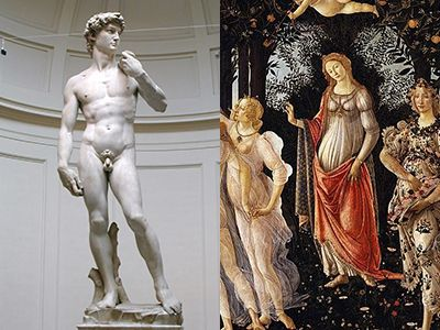 Guided Tours of the Uffizi Gallery and Michelangelo's David