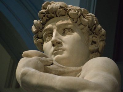 El David de Michelangelo