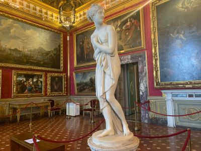 Tour of the galleries in the Pitti Palace